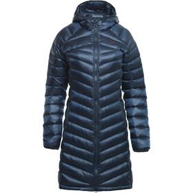 Y by Nordisk Pearth Down Coat Women, Azul petróleo